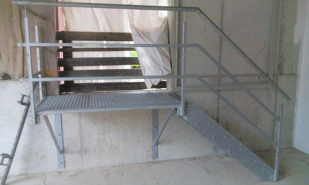 treppe metallbau landshut