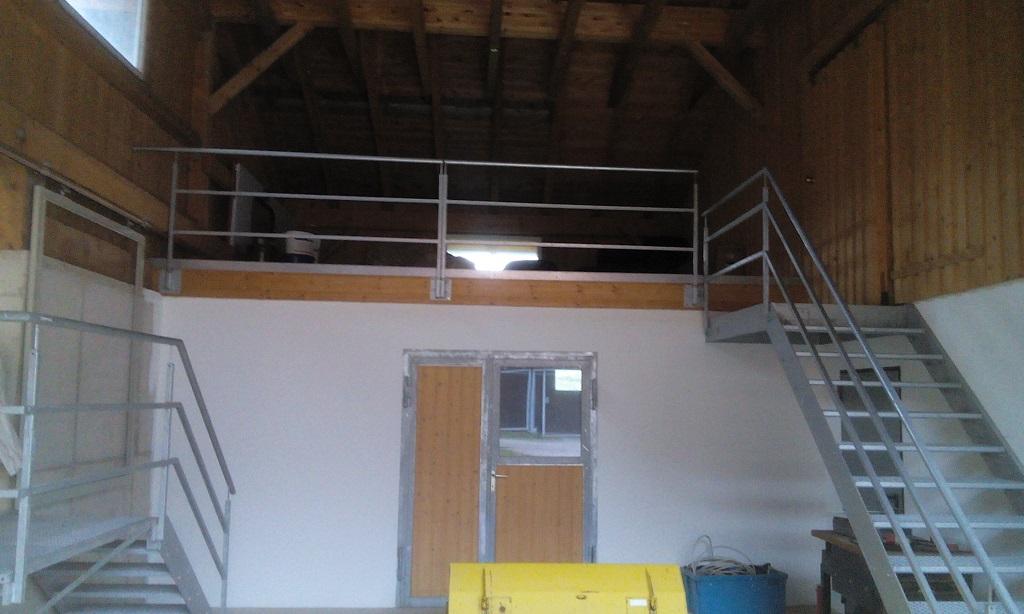 treppe zink metallbau landshut